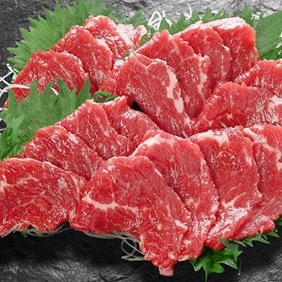 肉のみやべが厳選した馬刺し