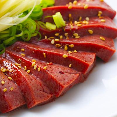 肉のみやべが厳選した 特撰 馬レバー 刺身用
